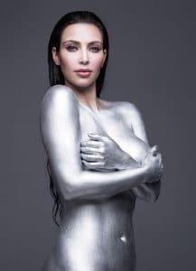 Kim Kardashian W Nude 2010