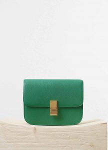 Celine Palm Goatskin Classic Box Medium Bag