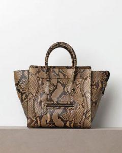 Celine Python Mini Luggage Bag - Winter 2012