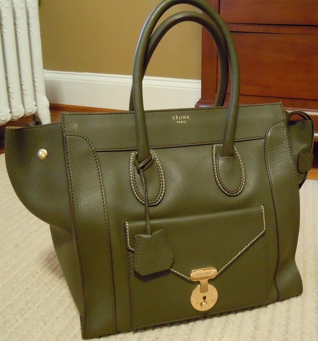 Celine Envelope Luggage Bag   Spotted Fashion