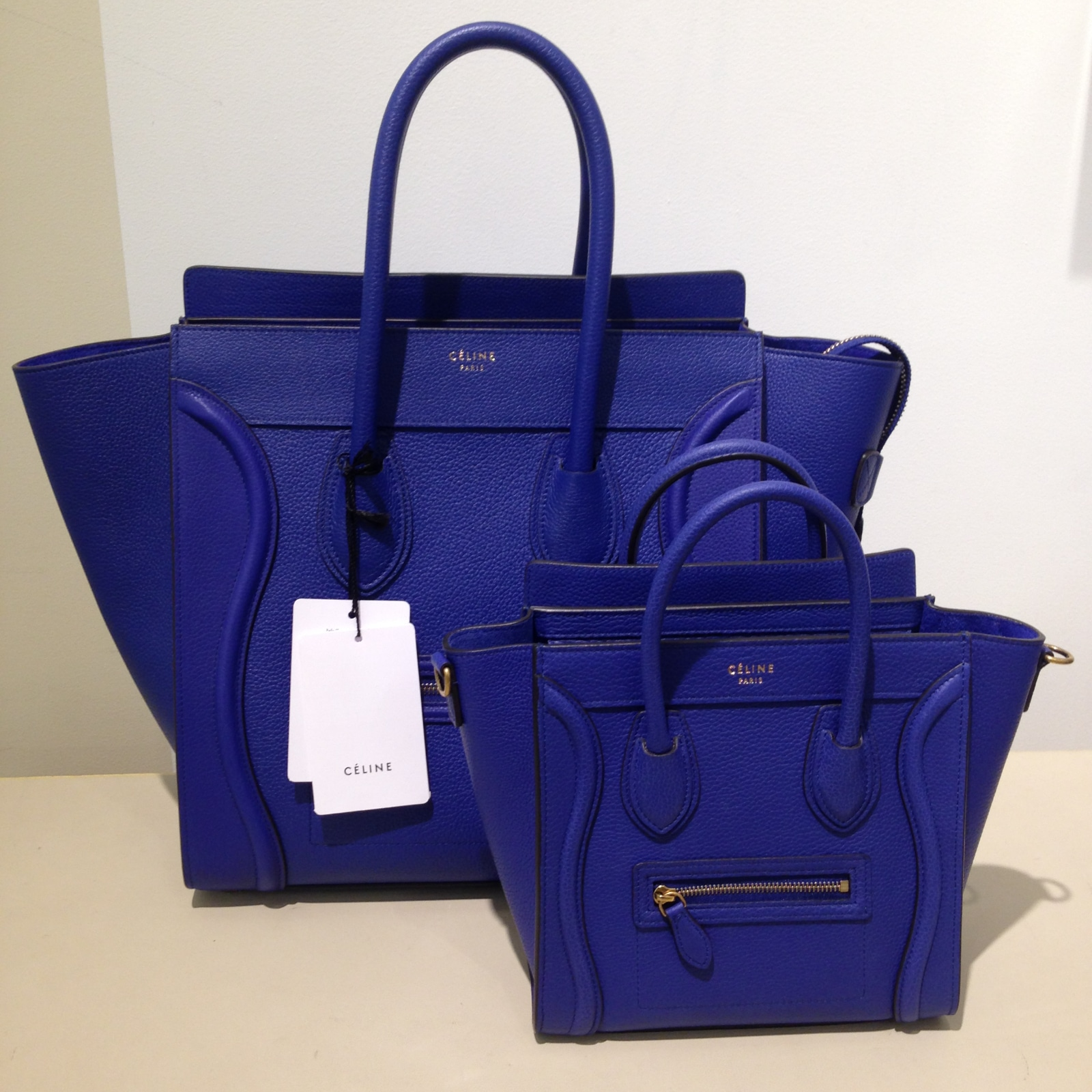 Celine Cobalt Blue Nano Bag