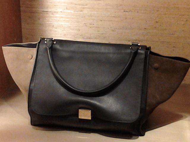 celine knockoff bag - Celine Suede Trapeze Bag FW2011 | Spotted Fashion
