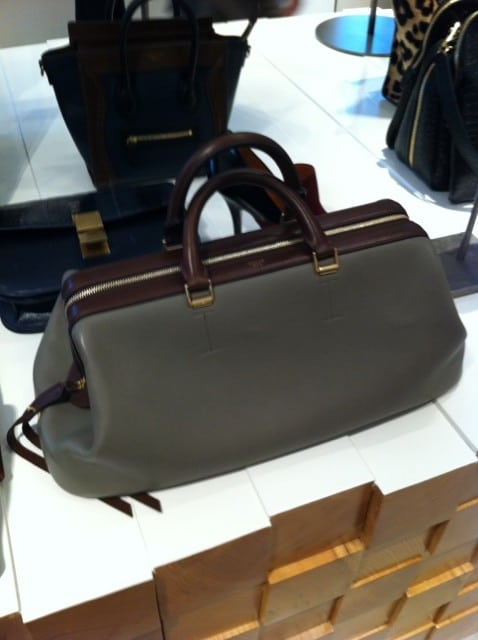 Celine Doctor Bag Spotted Fashion