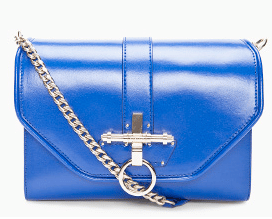 Givenchy Cobalt Blue Leather Obsedia Bag
