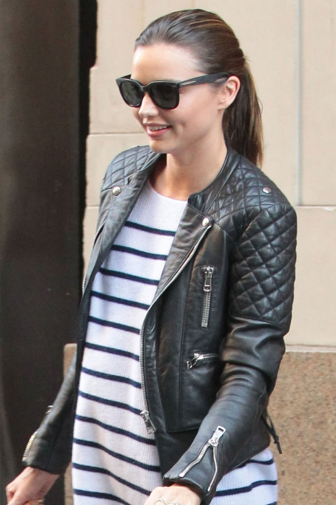 Wear you Trendswould a quilted biker jacket