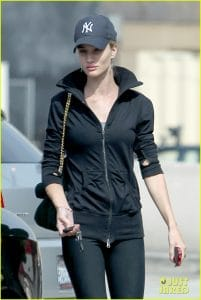Rosie Huntington Whiteley with Celine Case Flap