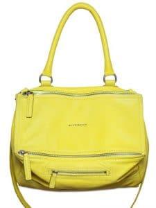 Givenchy Yellow Pandora Bag