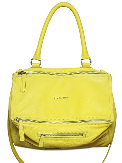 Givenchy Yellow Pandora Bag