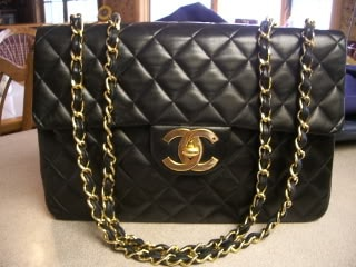 chanel vintage bag. Gallery. Chanel Classic Flap Bags Jumbo Vintage Bag
