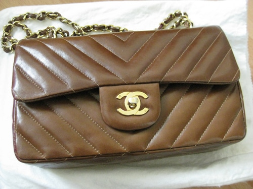 Vintage Chanel Bags Inside Chanel Chocolate Brown Vintage