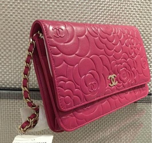 Chanel Camellia Woc Price 2014 Chanel Fuschia Camellia Woc