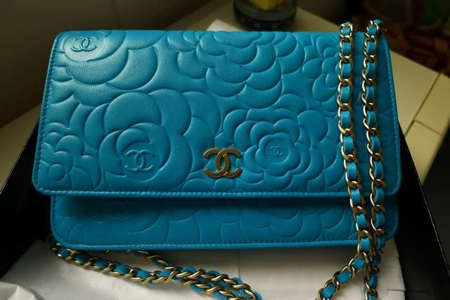 Chanel Camellia Woc Price 2014 Chanel Turquoise Camellia Woc