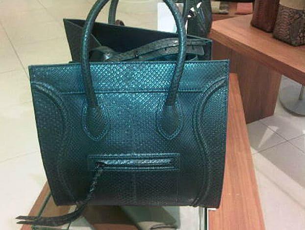 celine replica handbag - Celine Python Bags from Spring 2012 | Spotted Fashion