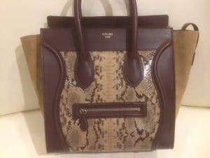 d856e250e7 The post Celine Python Bags from Spring 2012 appeared first on Spotted  Fashion.