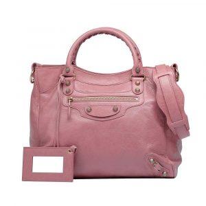 Balenciaga Pink Rose Bruyere Velo Bag 2012