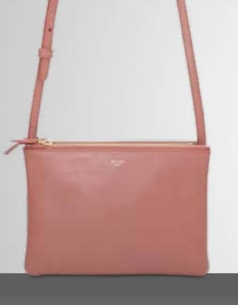 Celine Pink Trio Crossbody Bag | Spotted Fashion