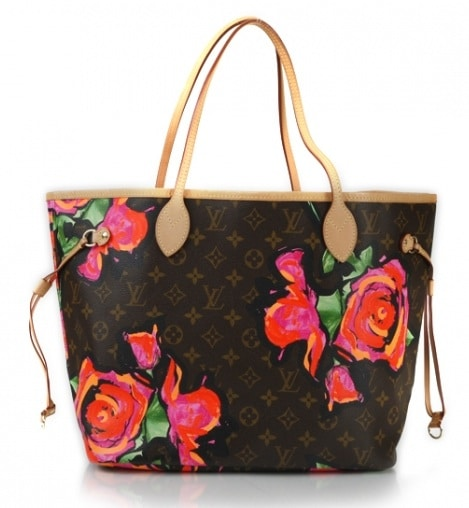 Limited Edition Monogram Canvas Louis Vuitton Porto Cervo Neverfull Gm Bag
