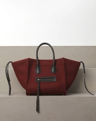 celine bag burgundy