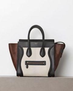 celine-tri-color-pony-hair-mini-luggage-bag