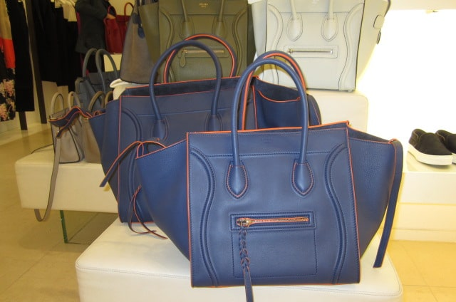 Celine Mini Luggage and Phantom Bags for Fall 2012 | Spotted Fashion
