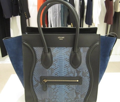 fake handbags in singapore - Celine Mini Luggage and Phantom Bags for Fall 2012 | Spotted Fashion