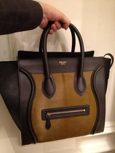c790fa39b4 Celine Mini Luggage and Phantom Bags for Fall 2012