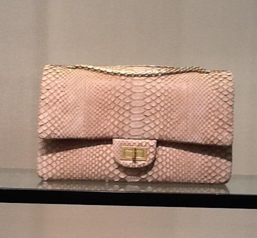 Сумка Chanel 255 Bag Python купить в Москве
