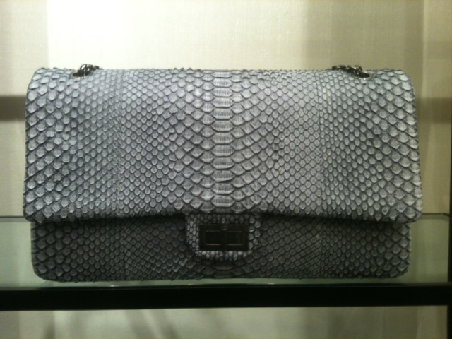 4f7b2ea82e9c Chanel Python and Stingray Bags for 2012 | Spotted Fashion