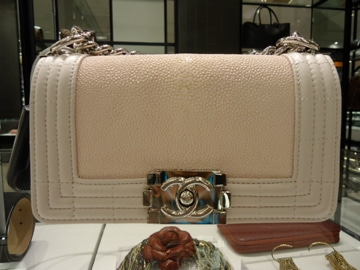 feb14304d94b Chanel Python and Stingray Bags for 2012 | Spotted Fashion