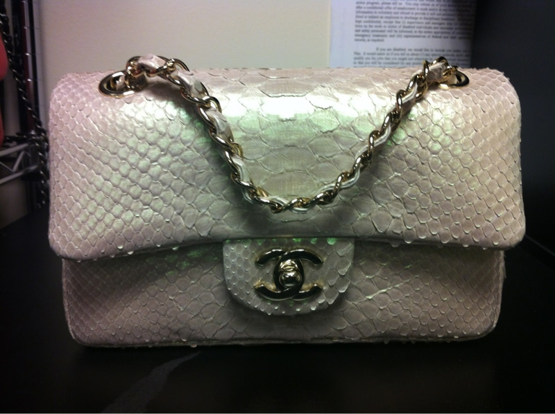 45b12bdb01c997 Chanel Small Python Classic Flap Bag Price | Stanford Center for ...