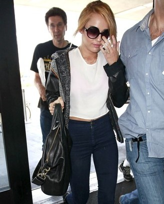 Miley Cyrus Engagement Givenchy Nightingale Bag