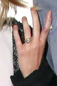 Miley Cyrus Engagement Givenchy Nightingale Bag6