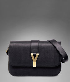 yves saint laurent chyc large flap shoulder bag