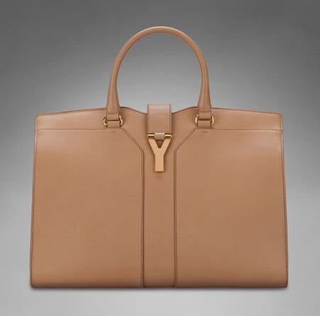Yves Saint Laurent Chyc Tote Bag Reference Guide Spotted