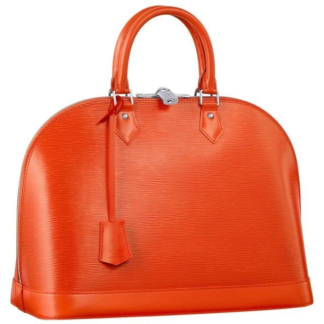 Fashion 2017 fall colors - Louis Vuitton Epi Alma Bag Reference Guide Spotted Fashion