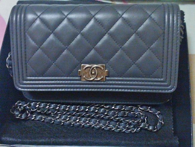 Chanel le Boy Woc Chanel Boy Woc Bag in Dark