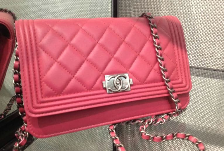 Chanel Bag Pink Chanel Pink Boy Woc Bag