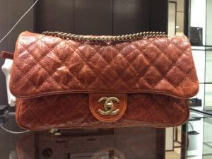 Chanel Red Shiva Flap Small Bag