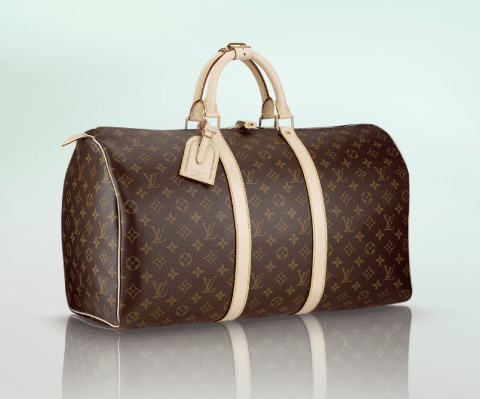 louis vuitton keepall bag reference guide spotted fashion. Black Bedroom Furniture Sets. Home Design Ideas