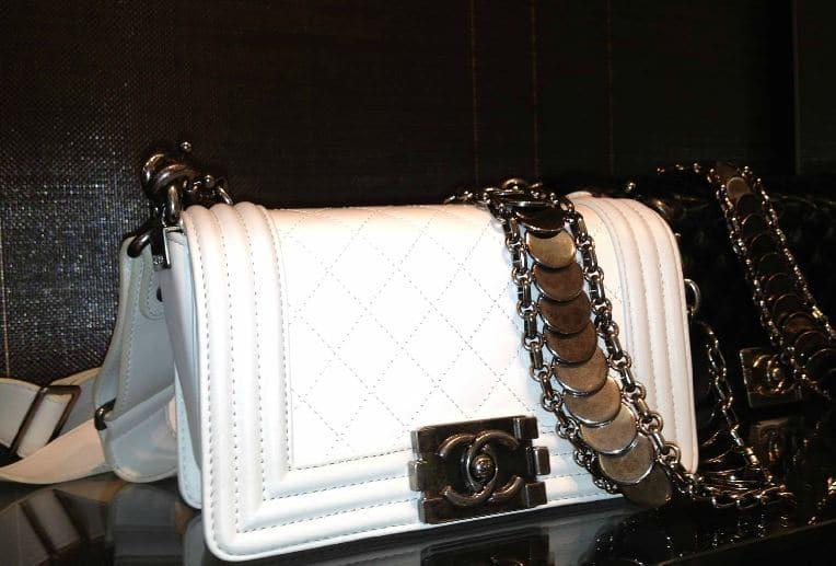 Chanel Boy Bag White Chanel-white-medallion-boy
