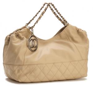 Chanel Beige Baby Coco Cabas Bag 2006