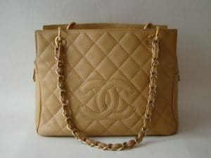 Chanel Beige PST Bag 2010