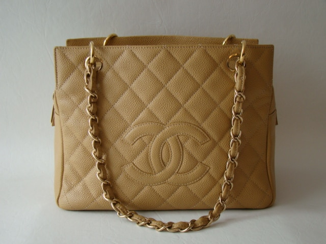 Chanel Beige Pst Bag 2010