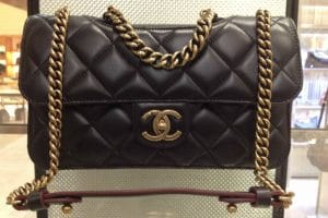 Chanel Black Perfect Edge bag