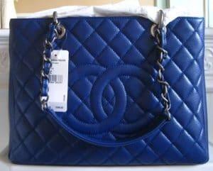 Chanel Blue Fonce GST Bag 2010
