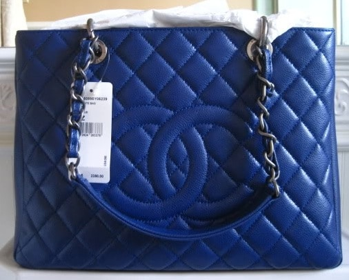 chanel blue bag reference guide � spotted fashion