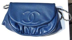 Chanel Blue Half Moon WOC Bag 2010