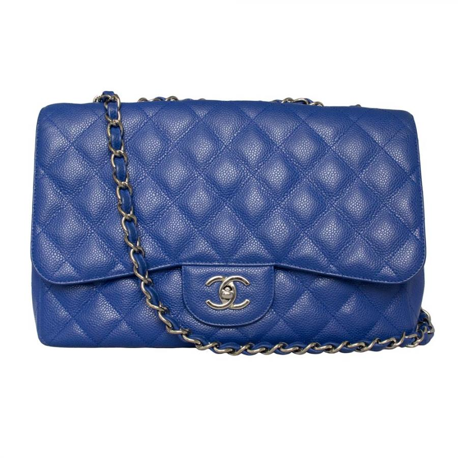 Chanel Blue Bag Reference Guide Spotted Fashion