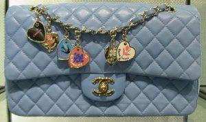 Chanel Blue Valentine Flap Bag 2009