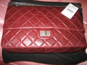 Chanel Bordeaux Reissue Flap 226 Bag 2006